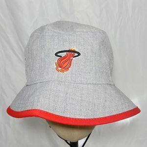 Miami Heat Hex Bucket Cap